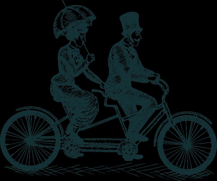 אופניים לזוג